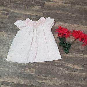 Baby girl smocked dress